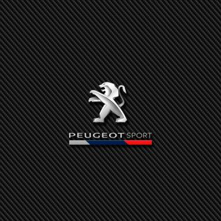 Обои на телефон эмблемы, спорт, логотипы, карбон, значок, peugeot sport carbon, peugeot