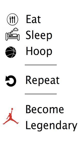 Обои на телефон сон, ешь, hoop