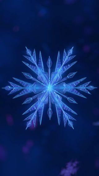 Обои на телефон снежинки, символ, снег, лед, арт, абстрактные, flake, art