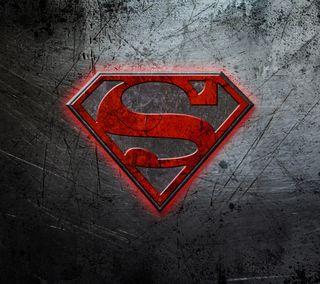 Обои на телефон стальные, супермен, металл, логотипы