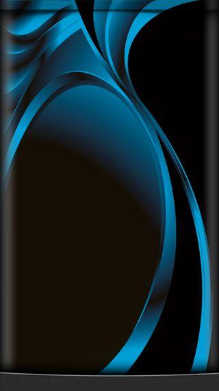 Обои на телефон beauty design, edge style, s7, абстрактные, синие, дизайн, грани, красота, серебряные, стиль