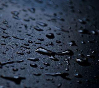 Обои на телефон капли дождя, черные, мокрые, капли воды, капли, дождь, вода, hd