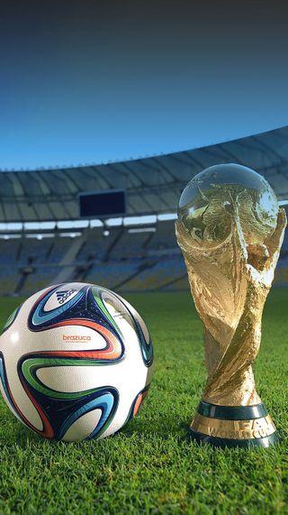 Обои на телефон футбольные, футбол, brazuca