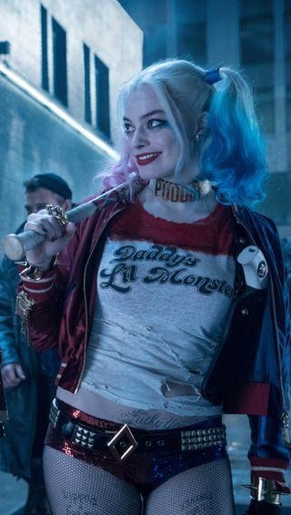 Обои на телефон женщины, харли, фильмы, отряд, комиксы, бэтмен, актриса, harley-01, dc