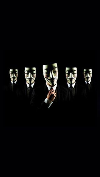 Обои на телефон черные, технологии, темные, минимализм, группа, взлом, анонимус, unknown, masks, anonymous group hack