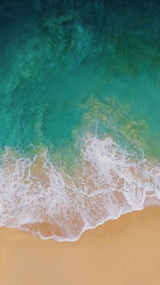 Обои на телефон океан, эпл, пляж, айфон, iphone, ios 11, ios, apple inc, apple