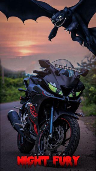 Обои на телефон японские, трюки, ночь, мотоциклы, байк, tracer, stunt, r15 v3, motor, darkfury, darkfu