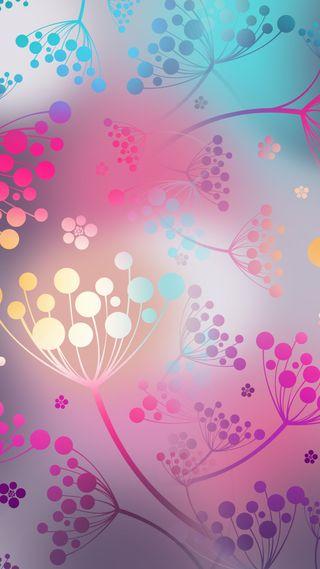 Обои на телефон геометрические, цветы, хипстер, симпатичные, крутые, дизайн, в тренде, абстрактные, pretty flowers