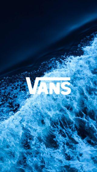 Обои на телефон 2018, hd, vans, vans waves, море, океан, минимализм, логотипы, волна, волны, бренды