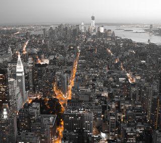 Обои на телефон ок, приятные, новый, крутые, красота, классные, йорк, город, вид