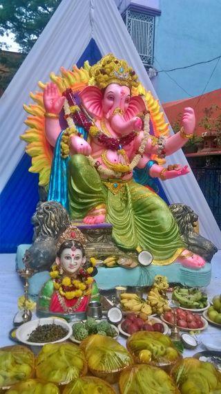 Обои на телефон духовные, ганеша, бог, spiritual ganesha