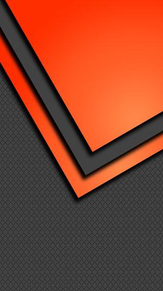 Обои на телефон треугольники, минимализм, коричневые, серые, оранжевые, абстрактные, s8, s7