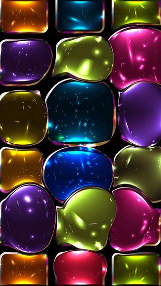 Обои на телефон стекло, плитка, окрашенный, красочные