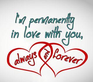 Обои на телефон навсегда, цитата, поговорка, новый, любовь, крутые, знаки, всегда, permanently, love, always and forever