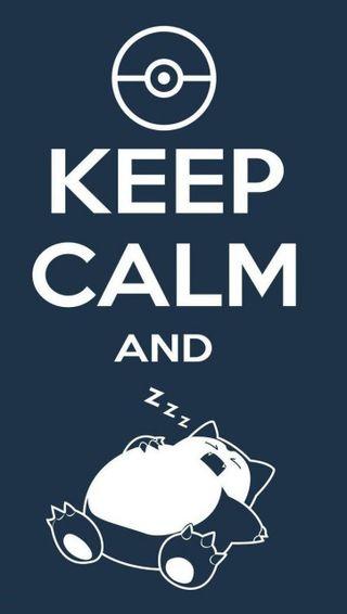 Обои на телефон фон, спокойствие, покемоны, классные, snorlax, keep calm