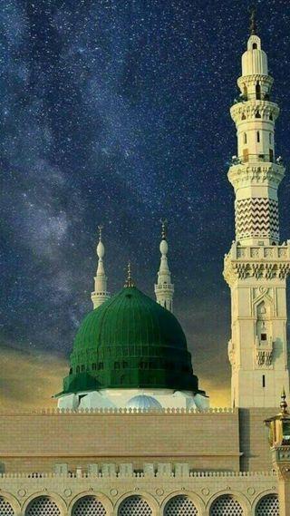 Обои на телефон изображения, приятные, мухаммед, мечеть, sultan, masjid-e-nabvi, hd