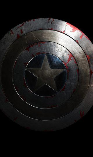Обои на телефон щит, фантазия, солдат, мстители, капитан, звезда, америка