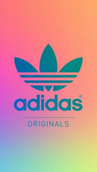 Обои на телефон цветные, логотипы, адидас, adidas