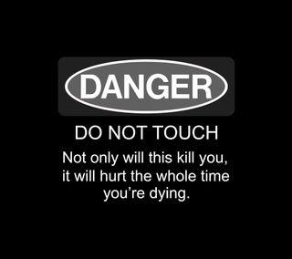 Обои на телефон трогать, смерть, предупреждение, осторожно, опасные, зло, забавные, shock, kill, do not touch