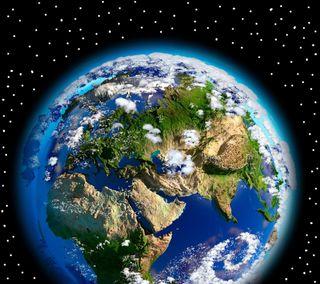 Обои на телефон космос, звезды, земля, мир, планета, карта, глобус