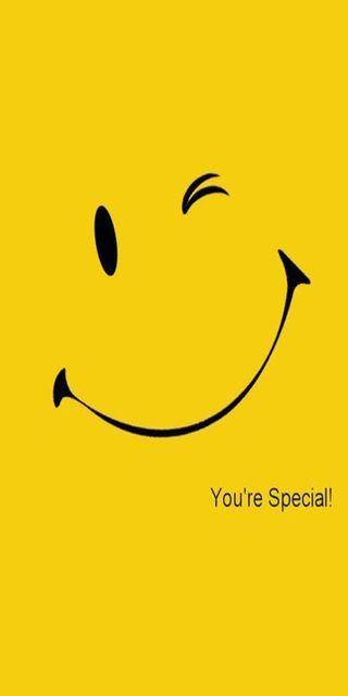 Обои на телефон смайлы, электрические, ты, специальные, приятные, лица, желтые, день, бокс, you are special, have