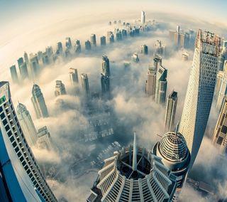 Обои на телефон небоскребы, мечты, город, lg g3, city of dreams