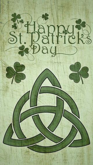 Обои на телефон трилистник, кельтский, ирландские, день, st paddys day, shamrock knot, celtic knot
