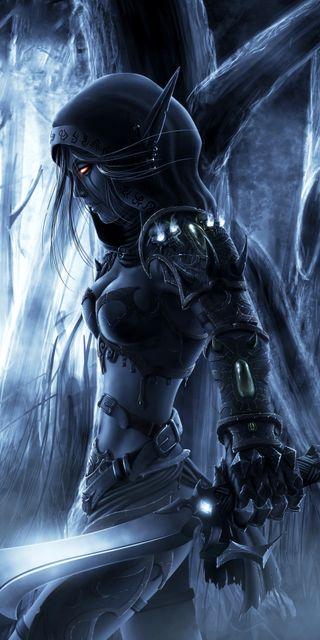 Обои на телефон эльф, финал, престолы, фантазия, темные, тема, сказочные, мир, война, воин, ангел, elf warrior