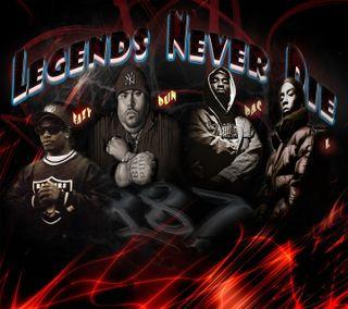 Обои на телефон хип хоп, умри, тупак, рэп, новый, никогда, музыка, легенды, legends never die, eazy e, bigl, big pun, 2pac