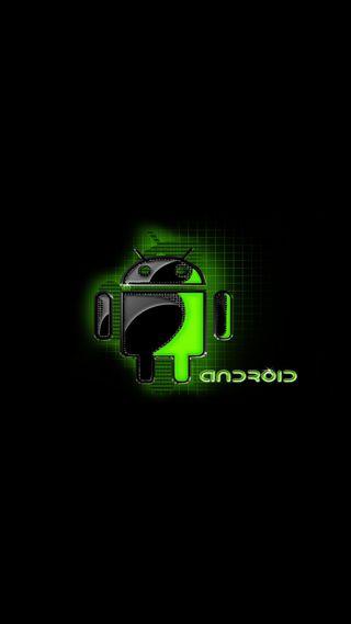 Обои на телефон дроид, черные, технология, ретро, зеленые, андроид, hd, android, 929