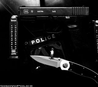 Обои на телефон полиция, kosovo police, dajafan