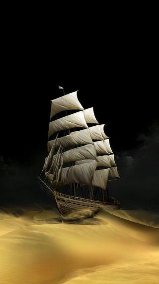 Обои на телефон пустыня, корабли, ship in desert