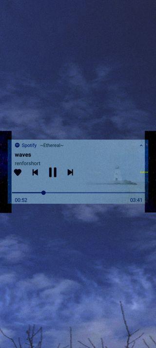 Обои на телефон песня, эстетические, темные, синие, облака, небо, музыка, монтаж, девушки, aesthetic music 4, aesthetic edit
