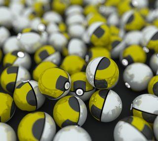 Обои на телефон ультра, покемоны, мяч, ultra ball, pokeballs, go