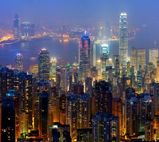 Обои на телефон технологии, новый, конг, горизонт, skyline, hong kong skyline, hd
