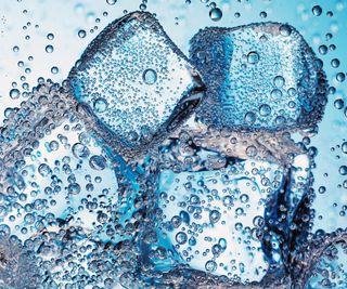 Обои на телефон холод, синие, пузыри, капли, дождь, вода, liquor, ices
