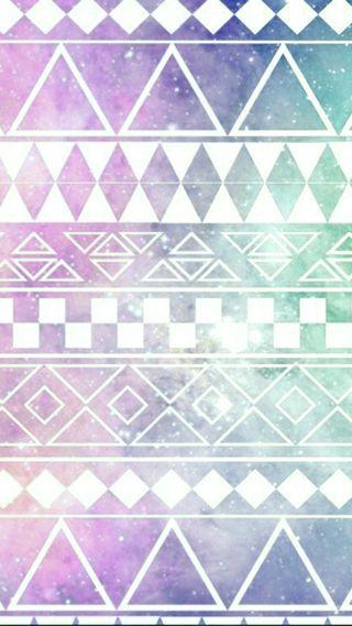 Обои на телефон треугольники, треугольник, шаблон, звезды, галактика, galaxy