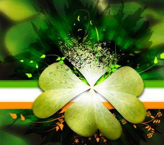 Обои на телефон ирландские, листья, клевер, кельтский, ирландия, st paddys, ireland 1, four leaf clover