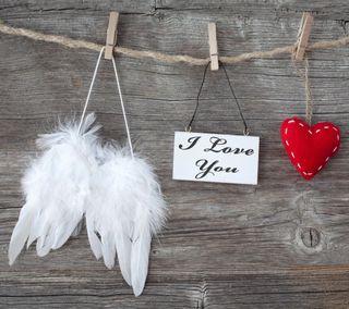 Обои на телефон крылья, ты, сердце, романтика, любовь, дерево, валентинка, love, i love you