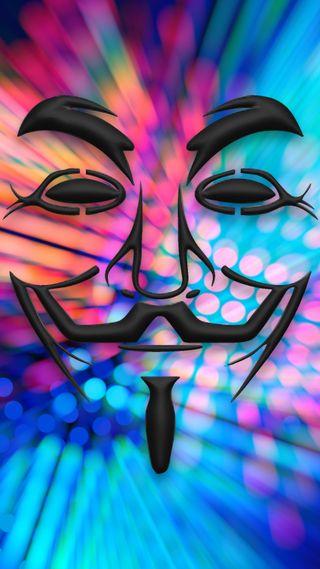 Обои на телефон анонимус, эпл, цветные, смайлики, люди, лицо, айфон, абстрактные, iphone, hq, hd, apple, anomym, abstract anonymous