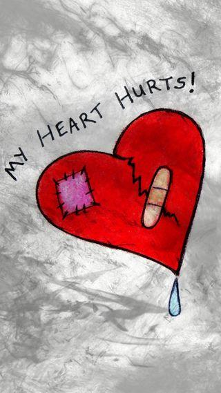 Обои на телефон болит, эмо, сломанный, слова, слеза, сердце, рисунки, мой, любовь, грустные, готические, боль, арт, my heart hurts, love, loss, hurting, art