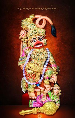 Обои на телефон хануман, индийские, господин, sarangpur hanuman