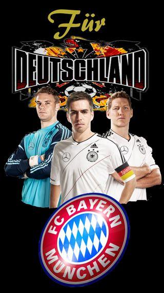 Обои на телефон футбольные, германия, munich, fuer deutschland fcb