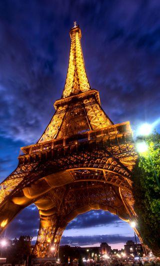 Обои на телефон франция, париж, башня