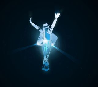 Обои на телефон jackson, синие, музыка, танец, майкл, танцы