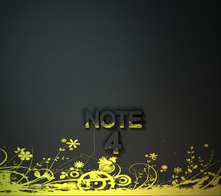 Обои на телефон желтые, s5, note 4, note 3