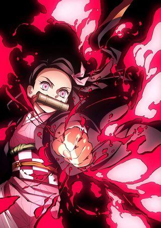 Обои на телефон удар, демон, супер, незуко, красые, дракон, девушки, аниме, nesuko, dragon