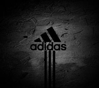 Обои на телефон логотипы, адидас, adidas