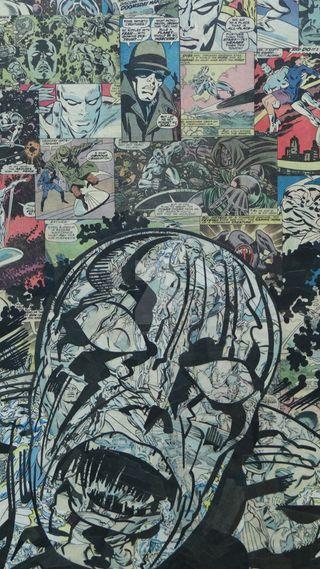 Обои на телефон фантастические, супергерои, серебряные, мстители, марвел, комиксы, silver surfer comic, silver surfer, marvel, fantastic 4