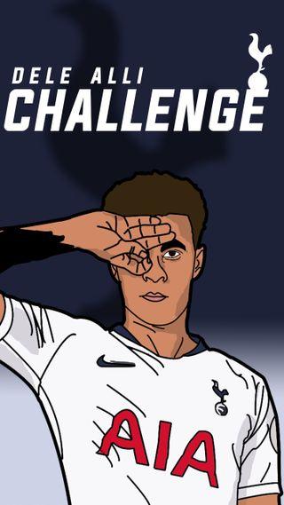 Обои на телефон футбольные, футбол, вызов, tottenham, inglaterra, futbol 2018, delle alli, dele alli challenge, dele alli, challenge 2018